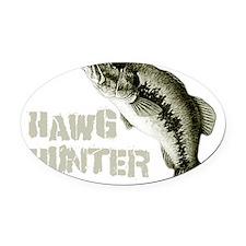 hawghunter Oval Car Magnet