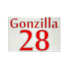 gonzilla28 Rectangle Magnet