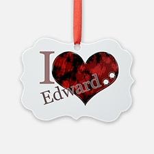 iluvedwardheart Ornament