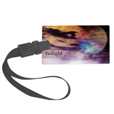twilightglass5x3 Luggage Tag