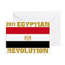 2011egyptianrevolution Greeting Card