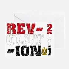 revolution Greeting Card
