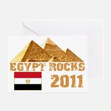 egyptrocks2011 Greeting Card
