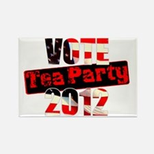 voteteaparty2012a Rectangle Magnet