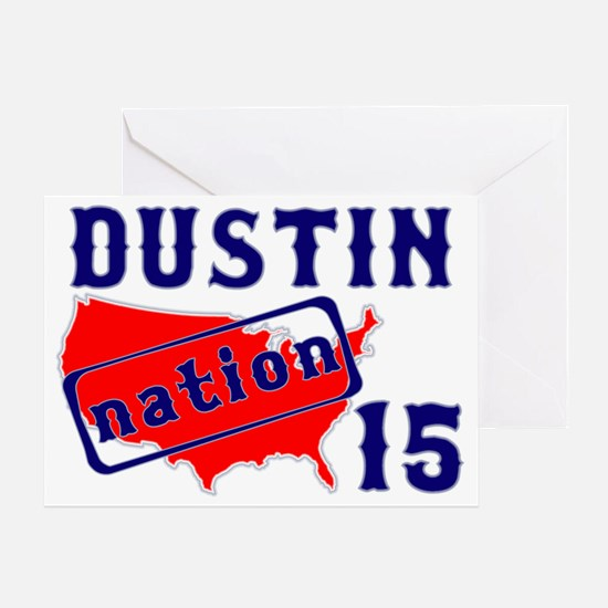 dustinnation15 Greeting Card