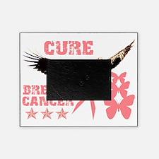 curebreastcancereaglebttrflys Picture Frame