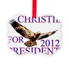 christieforpresident Ornament