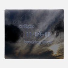 twilight111811breakingdawnskytee Throw Blanket