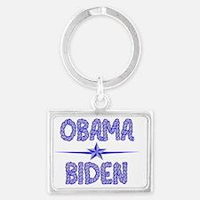 Obama Biden 2012 Landscape Keychain