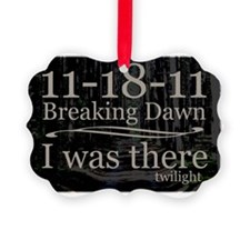 111811iwastherebreakingdawntreest Ornament