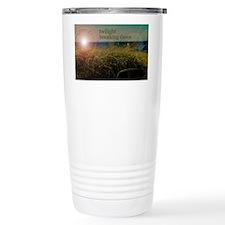 twilightbreakingdawnsunrisegras Travel Mug