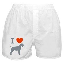 Wirehaired Pointing Griffon Boxer Shorts