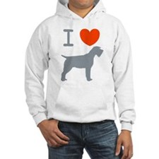 Wirehaired Pointing Griffon Hoodie