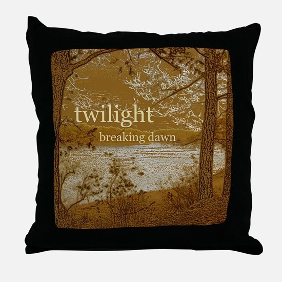 Twilight Breaking Dawn Throw Pillow