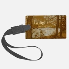 Twilight Breaking Dawn Luggage Tag