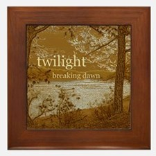 Twilight Breaking Dawn Framed Tile