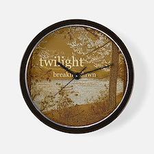 Twilight Breaking Dawn Wall Clock