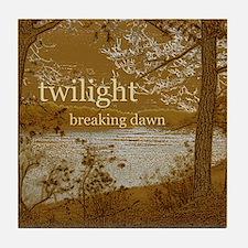 Twilight Breaking Dawn Tile Coaster