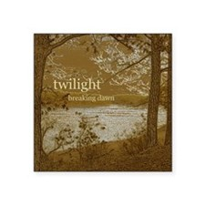 Twilight Breaking Dawn Square Sticker 3