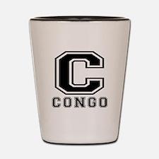Congo Designs Shot Glass