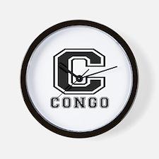 Congo Designs Wall Clock