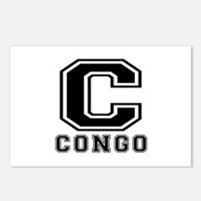 Congo Designs Postcards (Package of 8)