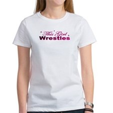This Girl Wrestles Tee