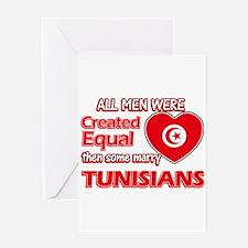 Tunisian Wife Designs Greeting Card
