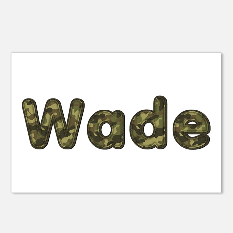 Wade Army Postcards 8 Pack