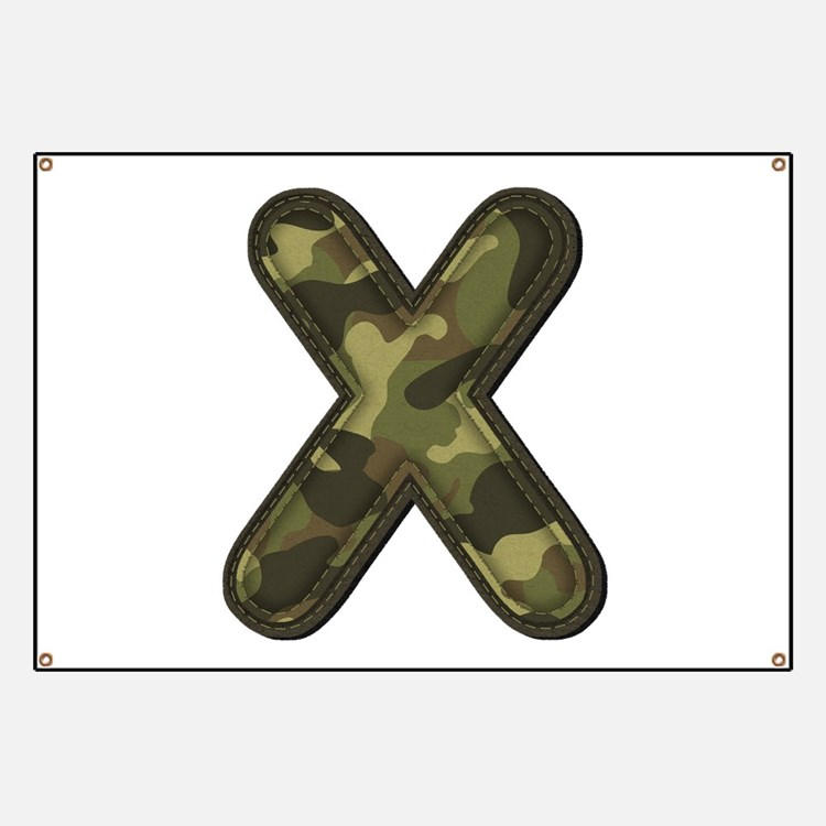 X Army Banner