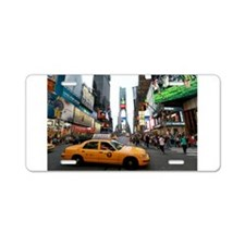 007890 Times Square NYC 2013 Aluminum License Plat