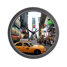 Super! Times Square New York - Pro Phot Wall Clock