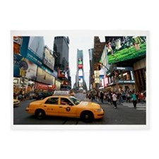 007890 Times Square NYC 2013 5'x7'Area Rug