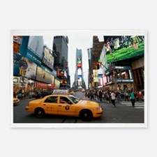 Super! Times Square New York - Pro 5'x7'Area Rug