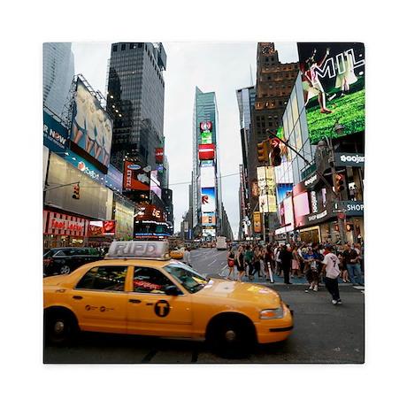 Super! Times Square New York - Pro Pho Queen Duvet