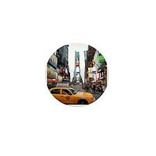 Super! Times Square New York Mini Button (10 pack)