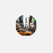 Super! Times Square New York - Pro Pho Mini Button