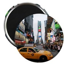 "Super! Times Square New Yor 2.25"" Magnet (10 pack)"