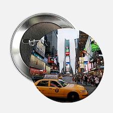 """Super! Times Square New York - Pro Ph 2.25"""" Button"""