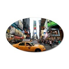 Super! Times Square New York Wall Decal