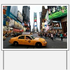Super! Times Square New York - Pro Photo Yard Sign