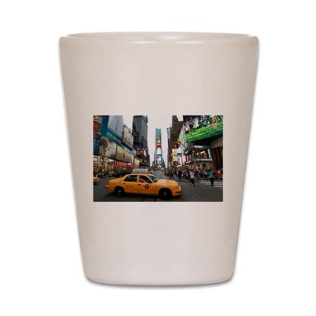 Super! Times Square New York - Pro Phot Shot Glass