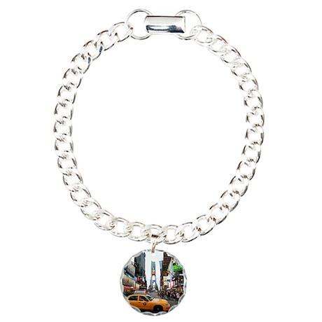 Super! Times Square New Charm Bracelet, One Charm