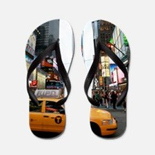 Super! Times Square New York - Pro Phot Flip Flops