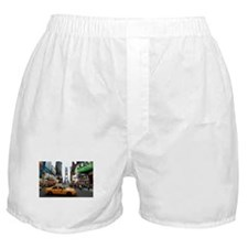 007890 Times Square NYC 2013 Boxer Shorts
