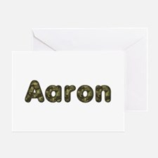Aaron Army Greeting Card