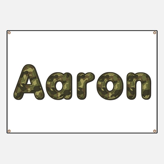 Aaron Army Banner