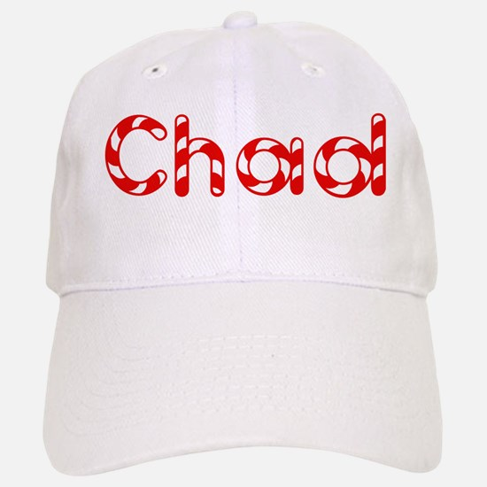 Chad - Candy Cane Baseball Baseball Cap
