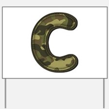 C Army Yard Sign