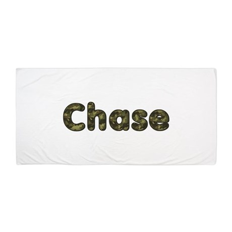 Chase Army Beach Towel